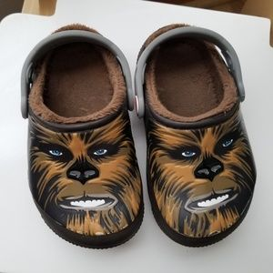 Star Wars Chewbacca Crocs toddler clogs